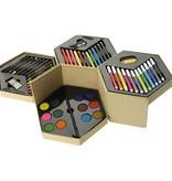 Kleurpotlood bedrukken 52 delig kleurenset 10628500