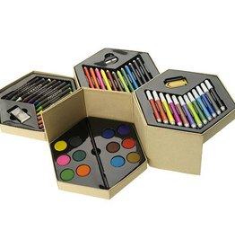 Kleurpotlood bedrukken 52 delig kleurenset