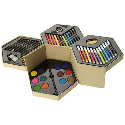 Vul- en potloden 52 delig kleurenset 10628500