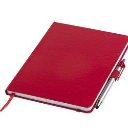Notitieboekjes bedrukken Crown A5 notitieboek met stylus balpen