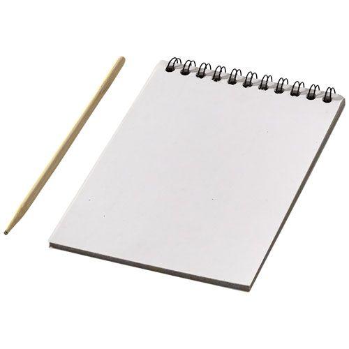 Memoblokken bedrukken Kleurrijk krasboek 10705500