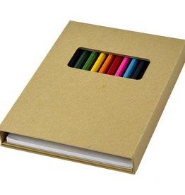 Kleurpotlood bedrukken Pablo kleur set