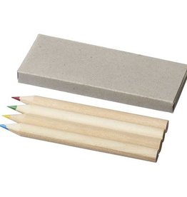 Vul- en potloden bedrukken Tullik 4 delige potloden set