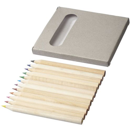 Kleurpotlood bedrukken 12 delige potloden set 10706700