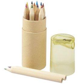 Kleurpotlood bedrukken 12 delige potloden set