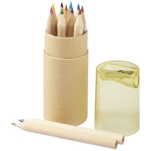 Kleurpotlood bedrukken 12 delige potloden set 10706800