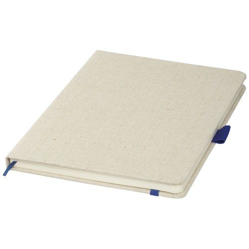 Notitieboekjes bedrukken Luna A5 canvas notitieboek 10707100