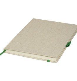 Notitieboekjes bedrukken Canvas notitieboek luna a5