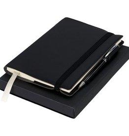 Notitieboekjes bedrukken Aria cadeauset met notitieboek en pen