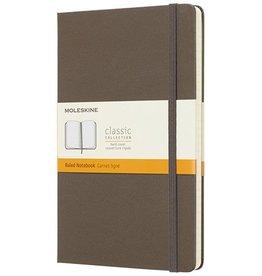 Moleskine Notitieboekjes Moleskine Classic Hard Cover Large gelinieerd