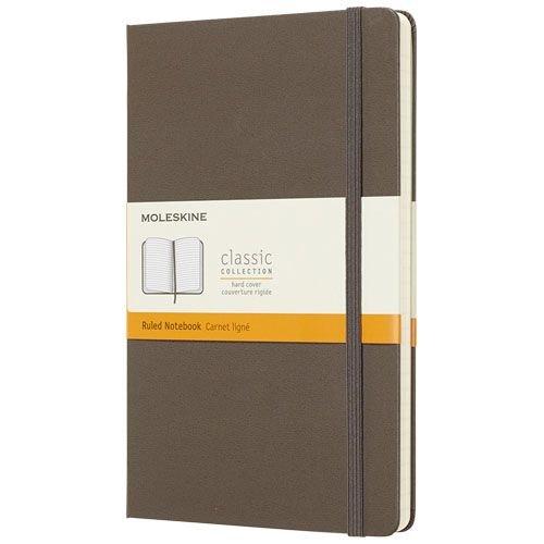 Moleskine  Moleskine Classic Hard Cover Large gelinieerd 10715100