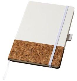 Notitieboekje bedrukken Evora A5 kurk en thermo PU notitieboek