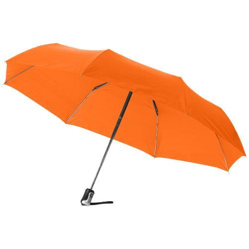 Opvouwbare paraplu bedrukken Alex 21.5'' 3 sectie automatische paraplu 10901600