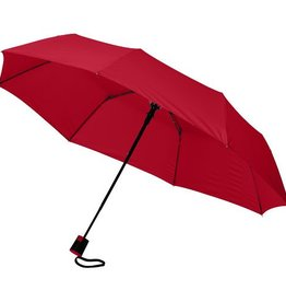 Opvouwbare paraplu bedrukken Wali 21'' 3 sectie automatische paraplu