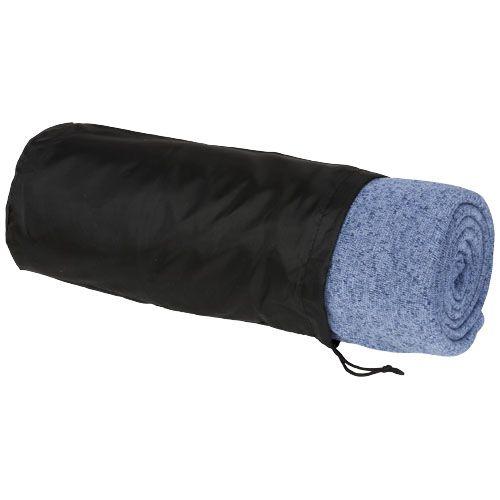 Fleece dekens Pim gemeleerde fleece deken 11296200