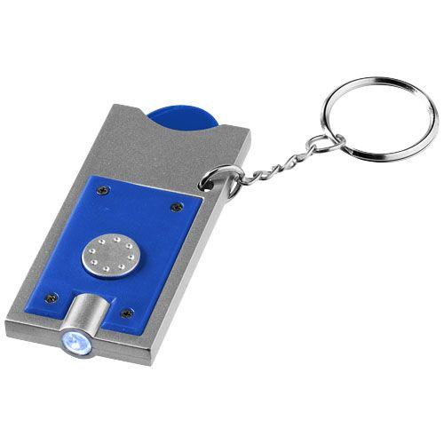 Sleutelhangers bedrukken Allegro sleutelhanger met munthouder en lampje 11809600
