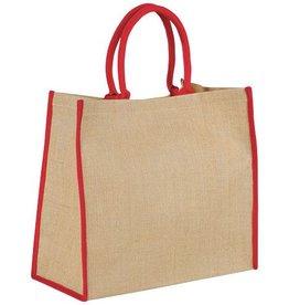 Boodschappentassen bedrukken Grote Jute tas