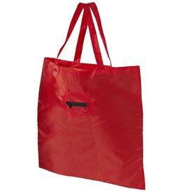 Opvouwbare boodschappentas bedrukken Opvouwbare boodschappentas bedrukken - Takeaway opvouwbare polyester draagtas 12027200