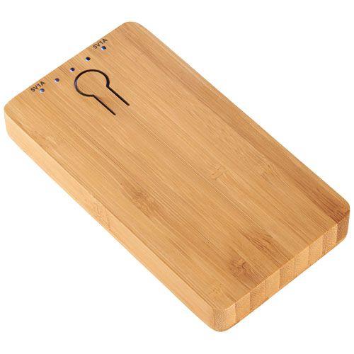 Bamboe powerbank 5000 mAh 12367600