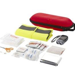 EHBO geschenken bedrukken 46 delige EHBO kit met veiligheidsvest