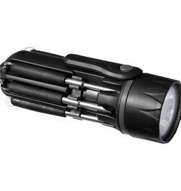 Zaklampen Spidey 8 in 1 schroevendraaier met zaklamp