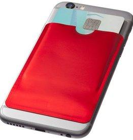 RFID Relatiegeschenk  bedrukken RFID kaarthouder voor smartphone