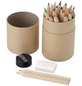Kleurpotlood relatiegeschenk 26 Delige potlodenset