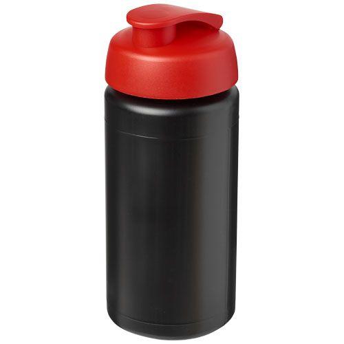 Waterflessen bedrukken Baseline® Plus grip 500 ml sportfles met flipcapdeksel 21007200