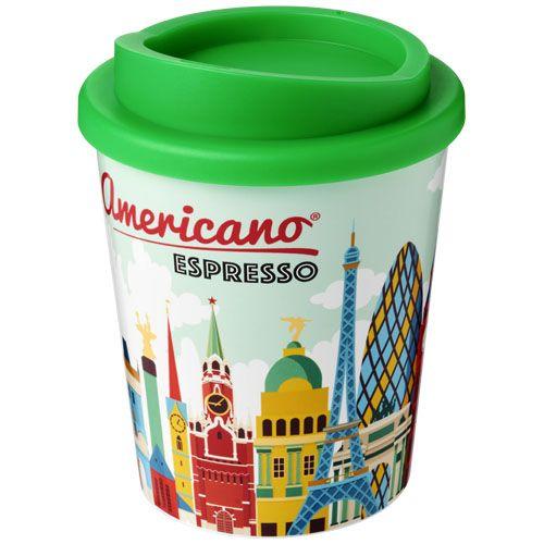 Thermo mok bedrukken Brite Americano® espresso 250 ml geïsoleerde beker 21009100