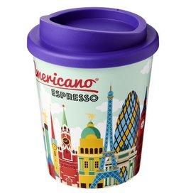 Thermosbeker bedrukken als relatiegeschenk Brite Americano® espresso 250 ml geïsoleerde beker