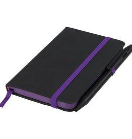 Notitieboekjes bedrukken Noir edge klein notitieboek