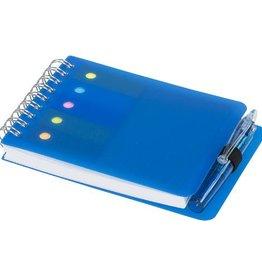 Notitieboekjes bedrukken Kent notitieboek met sticky notes en pen