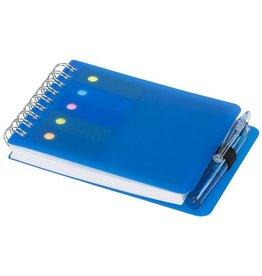 Notitieboekjes bedrukken als relatiegeschenk Notitieboek kent met sticky notes en pen