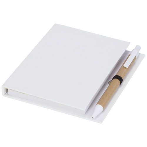 Pennensets bedrukken Colours combinatie notitieblok met sticky notes en pen 21022600
