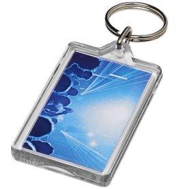 Sleutelhangers bedrukken Luken heropenbare sleutelhanger met metalen clip