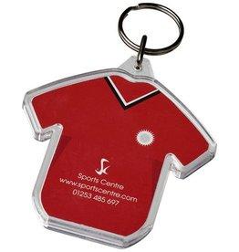 Sleutelhangers bedrukken Combo T-shirtvormige sleutelhanger