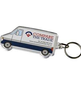 Sleutelhangers bedrukken Combo busvormige sleutelhanger