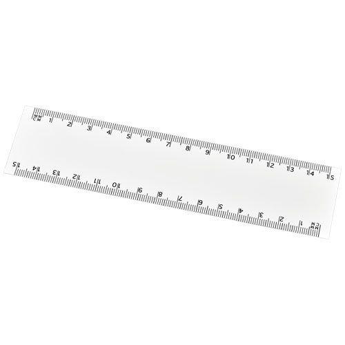 Kantoorartikelen relatiegeschenk Arc 15 cm flexibele liniaal