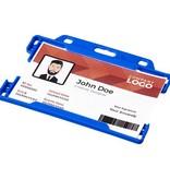 Reisaccessoires bedrukt Vega kunststof badgehouder 21060200
