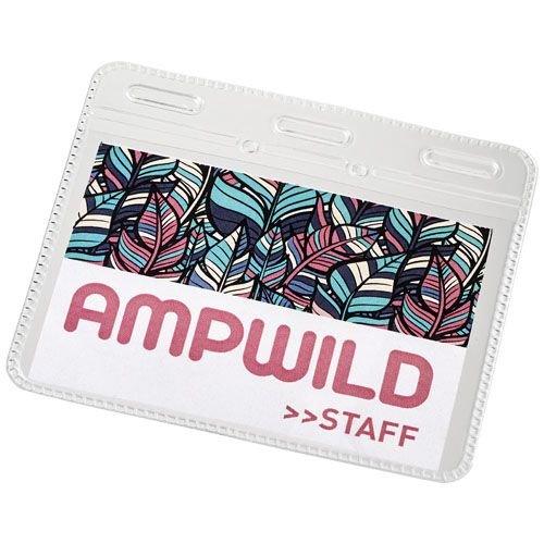 Lanyards bedrukken Arell kunststof badgehouder 21060500