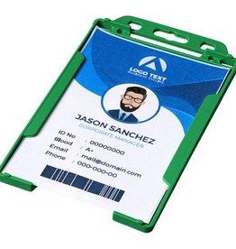 Lanyards Pierre transparante badgehouder