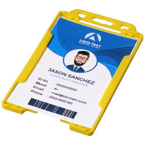 Lanyards bedrukken Pierre transparante badgehouder 21060600