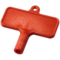 Tools relatiegeschenk Largo kunststof radiatorsleutel