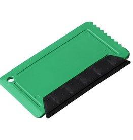 IJskrabber bedrukken Freeze ijskrabber met rubber in creditcardformaat