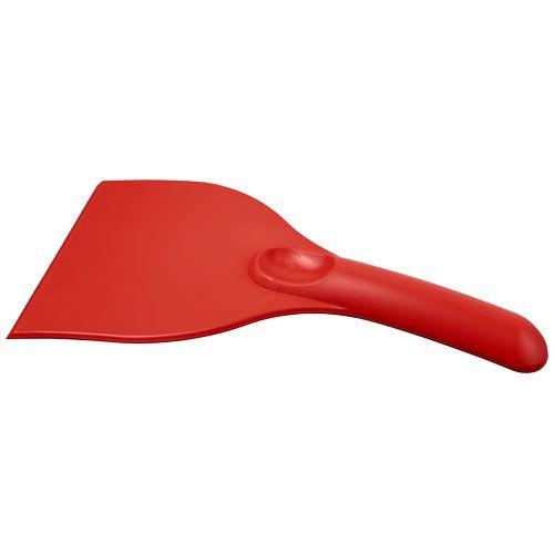 IJskrabbers bedrukken Ski curved kunststof ijskrabber 21084400
