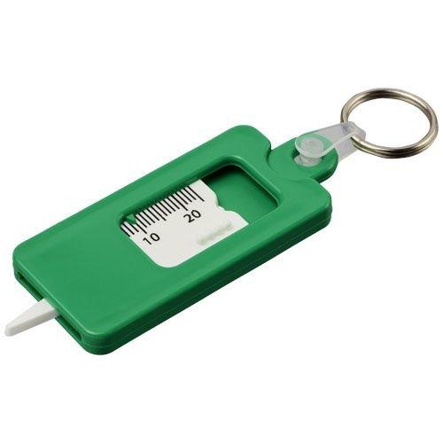 Auto & fiets artikelen bedrukken Check it bandenprofielmeter met sleutelring 21084900