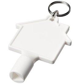 Gereedschap en multitools bedrukken Maximilian huisvormige meterbox-sleutel met sleutelhanger