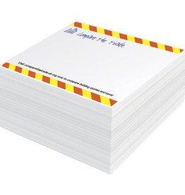 Memoblokken bedrukken Block-Mate® 1C klein memoblok