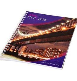 Notitieboekje bedrukken Desk-Mate® A5 wire-o notitieboek