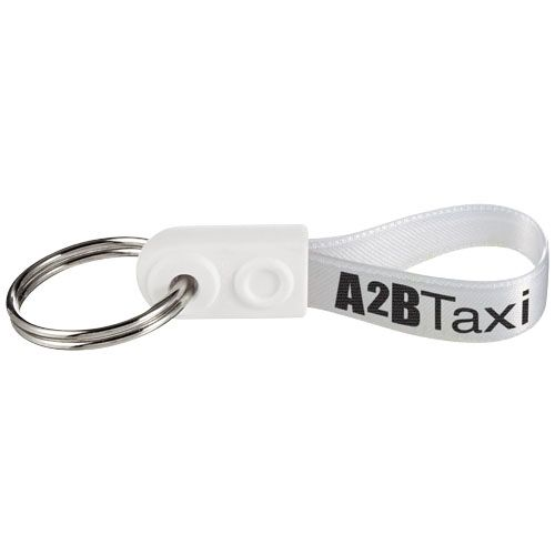 Sleutelhangers bedrukken Ad-Loop ® Mini sleutelhanger 21277100